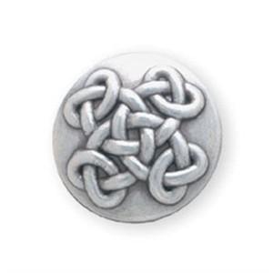 Eternal cross silver plate