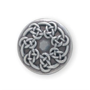 Pictish knot silver plate