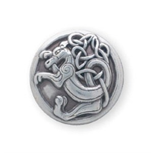 kell dragon silver plate